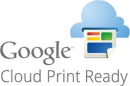 Logo Google cloud print ready